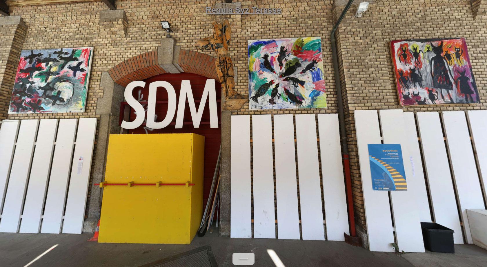 Art Dock Terrasse – Regula Syz